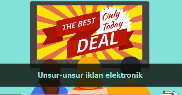 Unsur unsur iklan elektronik